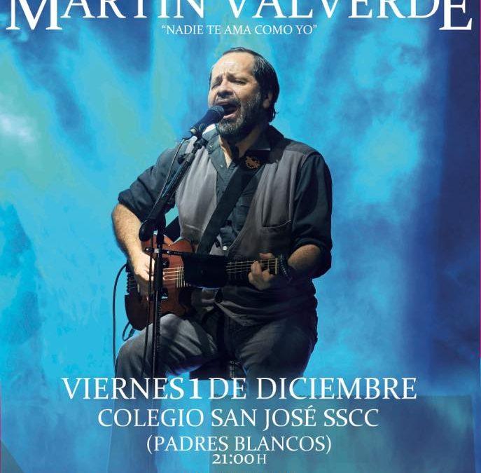 Próximo evento: Concierto de Martín Valverde
